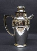 VICTORIAN PLATE  - COCKTAIL SHAKER