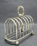 SHEFFIELD SILVER - TOAST STAND