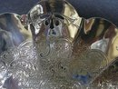 SILVER PLATE*OPEN WORK* FANCY DISH