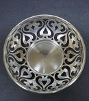 Victorian Style OPEN WORK BOWL*STERLING
