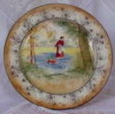 Lovely Antique Royal Doulton Plate D3812