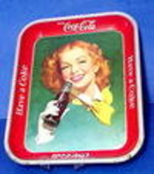 Old Coca-Cola Tray - HAVE a COKE
