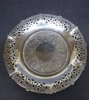 Antique Silver - SMALL ROUND PLATE
