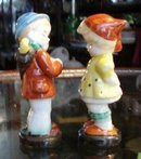 PRETTY OCCUPIED JAPAN PAIR - FIGURINES