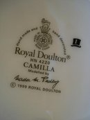 ROYAL DOULTON FIGURINE *CAMILLA*
