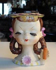 LOVELY LITTLE GIRL - HEAD VASE