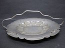 VICTORIAN  SILVER PLATED FRUIT  DISH