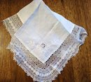 Museum Quality Victorian Lace plus - HANKY