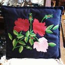 PILLOW - SHABBY CHIC ROSES - EMBROIDERY