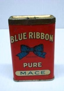 BLUE RIBBON SPICE TIN - PURE MACE