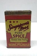 OLD SPICE TIN - SINGAPORE'S BEST