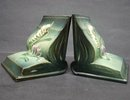 ROSEVILLE *FREESIA* BOOK ENDS - 15 - Pair
