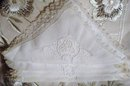 LACE*EMBROIDERY&CUTWORK*Large NAPKINS
