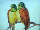 LOVELY OLD PICTURE - PAINTING *ROMANCE*