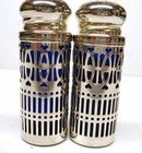 SILVER PLATED - SALT & PEPPER SHAKERS