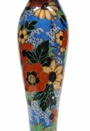 STUNNING DECO CANDLE HOLDER*CHINTZ