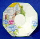 Melba Cup & Saucer Flower Handle