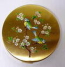 LOVELY FLORAL COMPACT