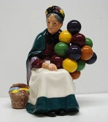 Royal Doulton The OLD BALLOON SELLER