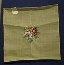 WOOLEN NEEDLEPOINT TAPESTRY-ROSES