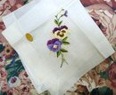 FINEST EMBROIDERY HANKY Made in Austria