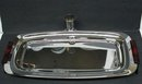 DECO CHROME/BAKELITE SERVING DISH