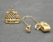 LOVELY HEIRLOOM VICTORIAN WATCH FOB