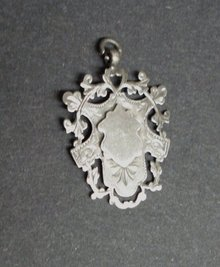 HEIRLOOM VICTORIAN STERLING WATCH FOB
