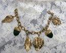Vintage Charm Bracelet  Fashion Jewelry