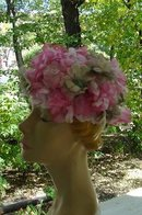 Antique Hat  All flowers