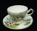 Regency China CUP & SAUCER - THE HUNT