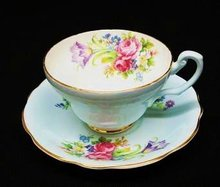FOLEY China CUP & SAUCER - FOLEY TULIP