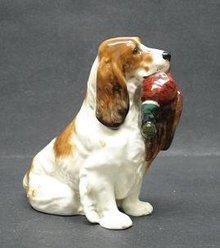Fabulous DOULTON DOG w/PHEASANT HN1028