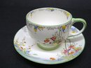 HEIRLOOM HAND Painted PARAGON CUP and SAUCER