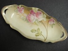 R S Germany China  OVAL DISH - Exquisite