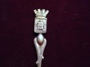 STERLING SOUVENIR SPOON  - ARRAS