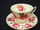 RADFORDS CHINA CUP & SAUCER - ROSES