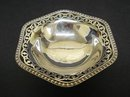 PRECIOUS STERLING FOOTED OPEN WORK DISH