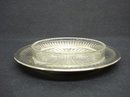 STERLING SILVER OPEN BUTTER DISH