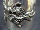 VICTORIAN SILVER FIGURAL NAPKIN RING