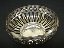 ENGLISH SILVER PLATED OPEN WORK DISH