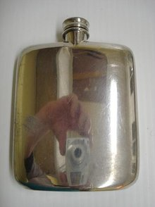 Sheffield Silver Plated 60 oz. HIP FLASK