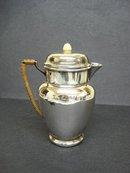 Elegant Victorian HOT WATER JUG Silver Plate