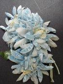 Velvet / Organdy Flowers  Millinery Flowers