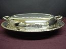 LOVELY ANTIQUE SILVERPLATE LIDDED DISH