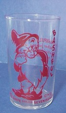 Disney Snow White&Seven Dwarfs Glass BASHFUL