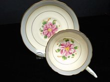 Superb Coalport English China Cup and Saucer
