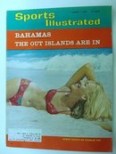 1966 SPORTS ILLUSTRATED MAGAZINE*BAHAMAS*