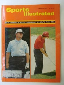 1966 SPORTS ILLUSTRATED MAGIZENE *GOLF*