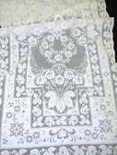 LOVELY FILLET LACE - TABLE / BUFFET RUNNER